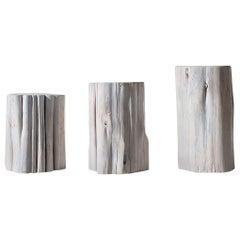 "Outdoor Stump Table - 15"" High"