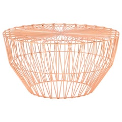 Outdoor Table Ottoman, The Drum Table by Bend Goods, Copper