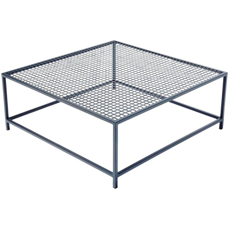 Outdoor Charcoal Coffee Table For Sale