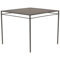 Outdoor Charcoal Dining Table