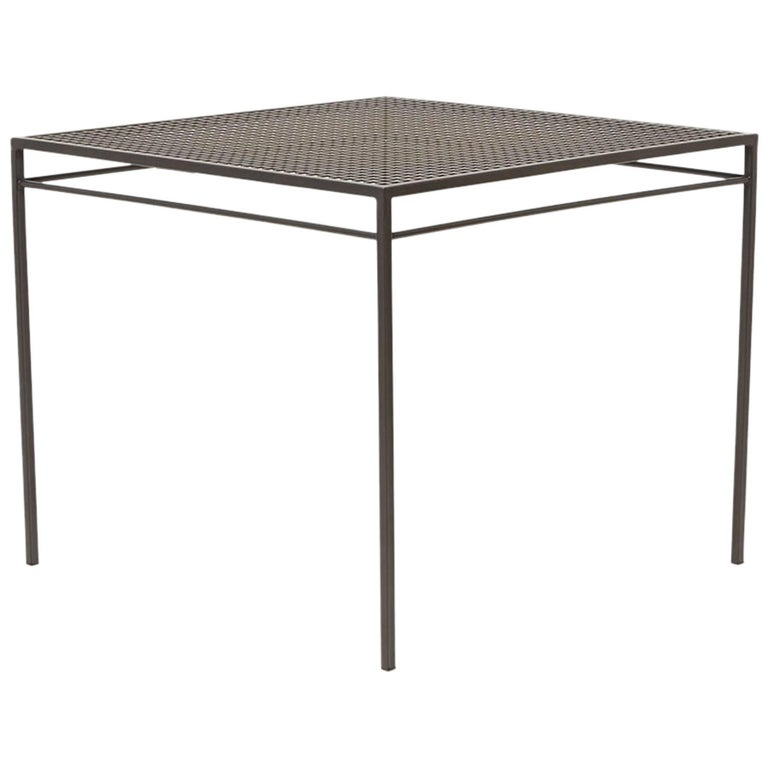 Outdoor Charcoal Dining Table For Sale