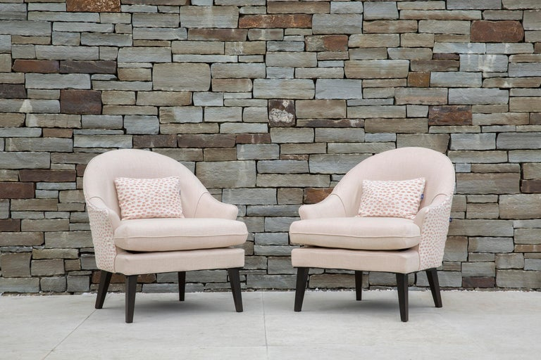 Modern Outdoor Therese Armchair by Coco Wolf For Sale