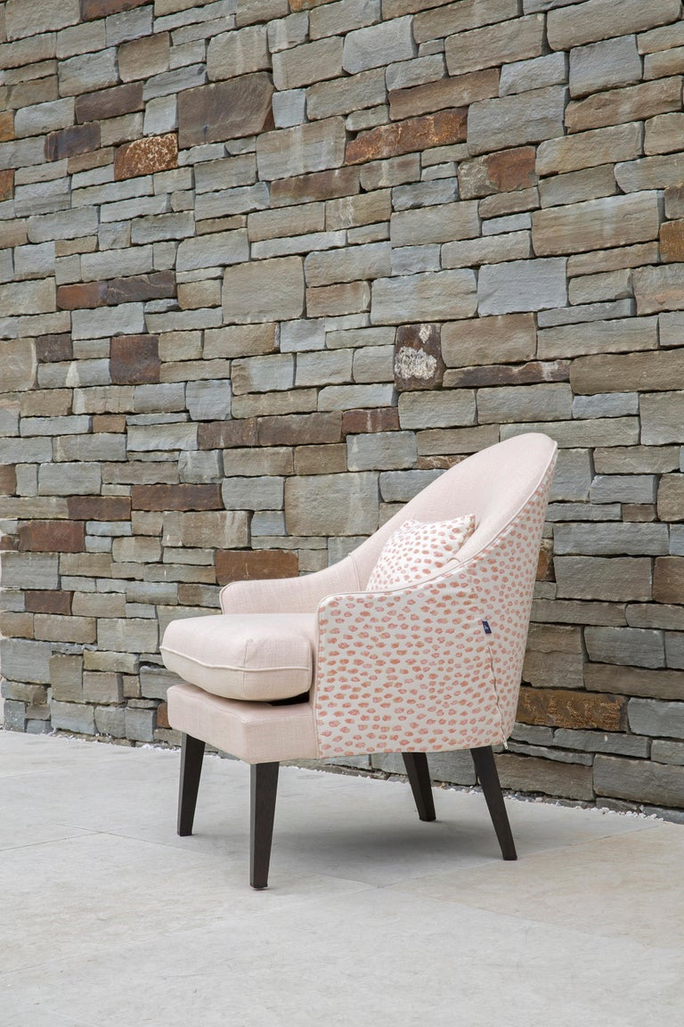 English Outdoor Therese Armchair by Coco Wolf For Sale