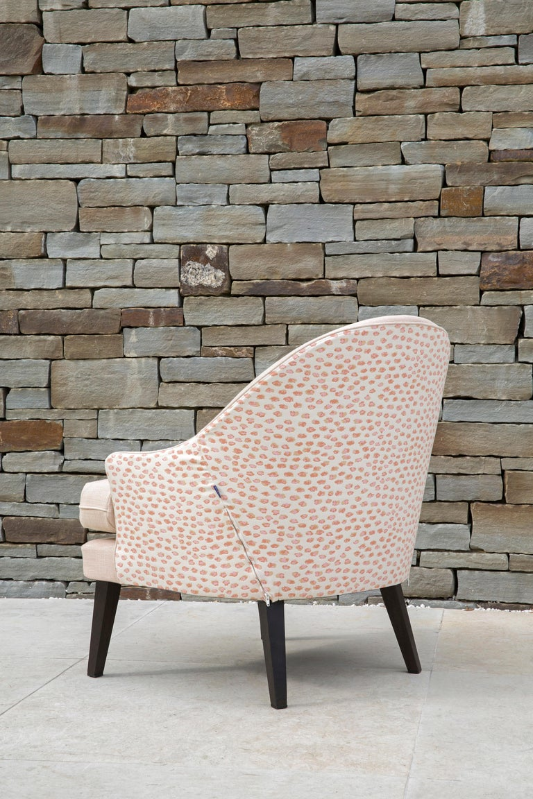 Outdoor Therese Armchair by Coco Wolf In New Condition For Sale In Boston, MA