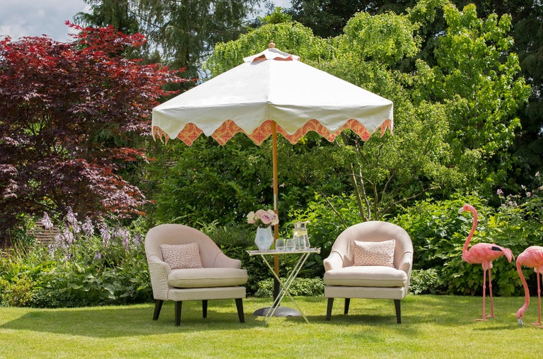 Contemporary Outdoor Therese Armchair by Coco Wolf For Sale