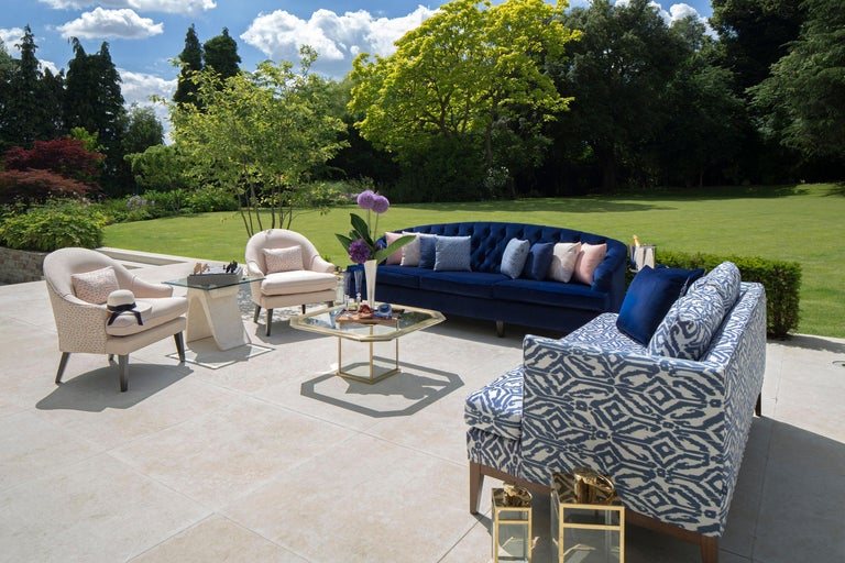 Outdoor Therese Armchair by Coco Wolf For Sale 1