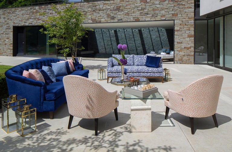 Outdoor Therese Armchair by Coco Wolf For Sale 2