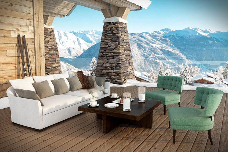 Outdoor Verdons Sofa by Coco Wolf For Sale 4