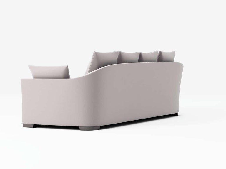 Modern Outdoor Verdons Sofa by Coco Wolf For Sale
