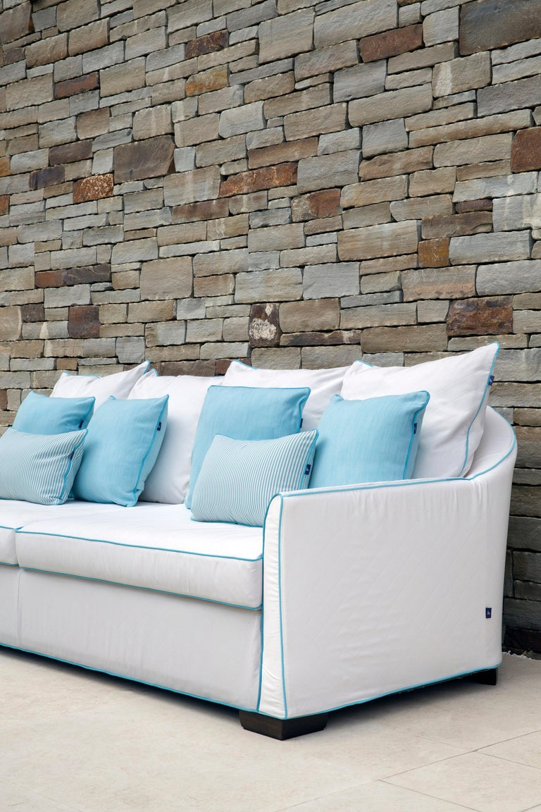 Outdoor Verdons Sofa by Coco Wolf For Sale 3
