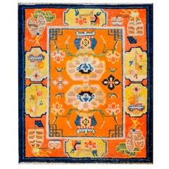 Outstanding 19th Century Tibetan Rug