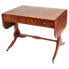 Outstanding Antique Edwardian Mahogany Sofa Table