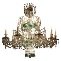 Outstanding Chandelier Crystal Manufacture of the Granja