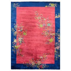 Outstanding Chinese Art Deco Rug