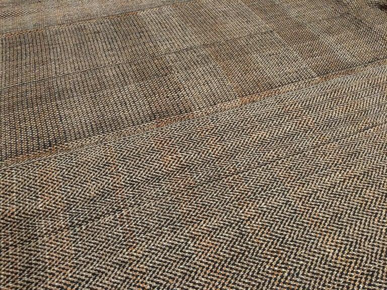 Mid-Century Modern Outstanding Contemporary Oversized Geometric Kilim Rug