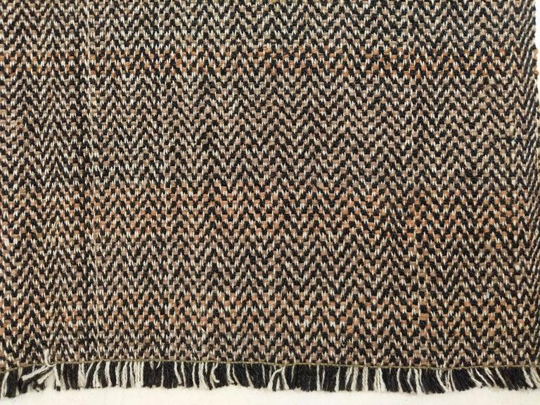 Turkish Outstanding Contemporary Oversized Geometric Kilim Rug