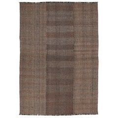 Outstanding Contemporary Oversized Geometric Kilim Rug