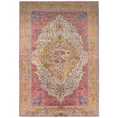 Outstanding Early 20th Century Agra Rug