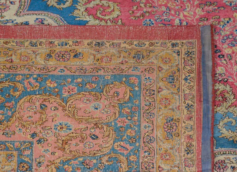 Outstanding Early 20th Century Kirman Rug For Sale 4