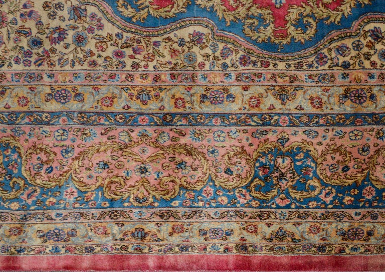 Outstanding Early 20th Century Kirman Rug For Sale 2