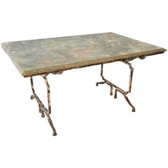 Outstanding French 19th Century Garden Table