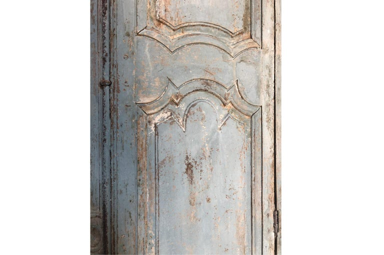 Outstanding French Louis XIV Period Painted Armoire 6