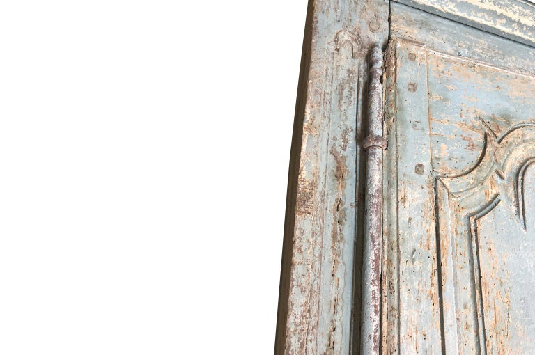 Outstanding French Louis XIV Period Painted Armoire 4