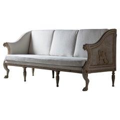 Outstanding Late Gustavian Sofa, circa 1790