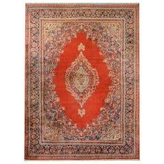 Outstanding Monumental Early 20th Century Sarouk Rug