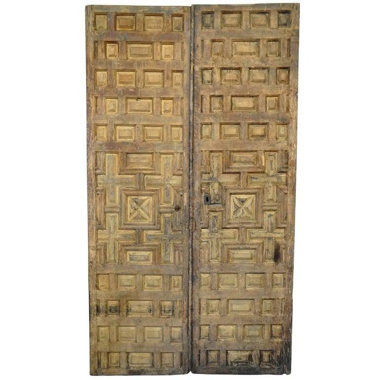 Outstanding Pair of 18th Century Spanish Doors