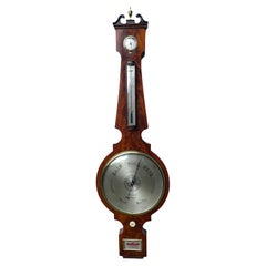 Outstanding Quality Antique 18th Century George III Oversized Banjo Barometer