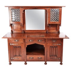 Outstanding Quality Antique Victorian Oak Arts & Crafts Sideboard