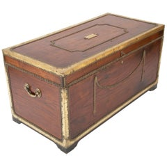 Outstanding Ship Captain's Sea Chest