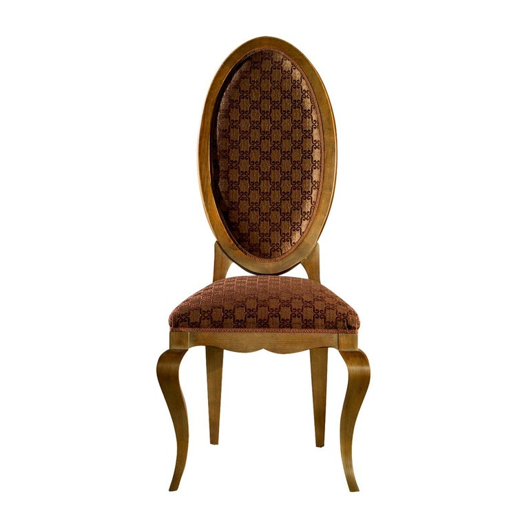Oval Back Dining Chair For Sale