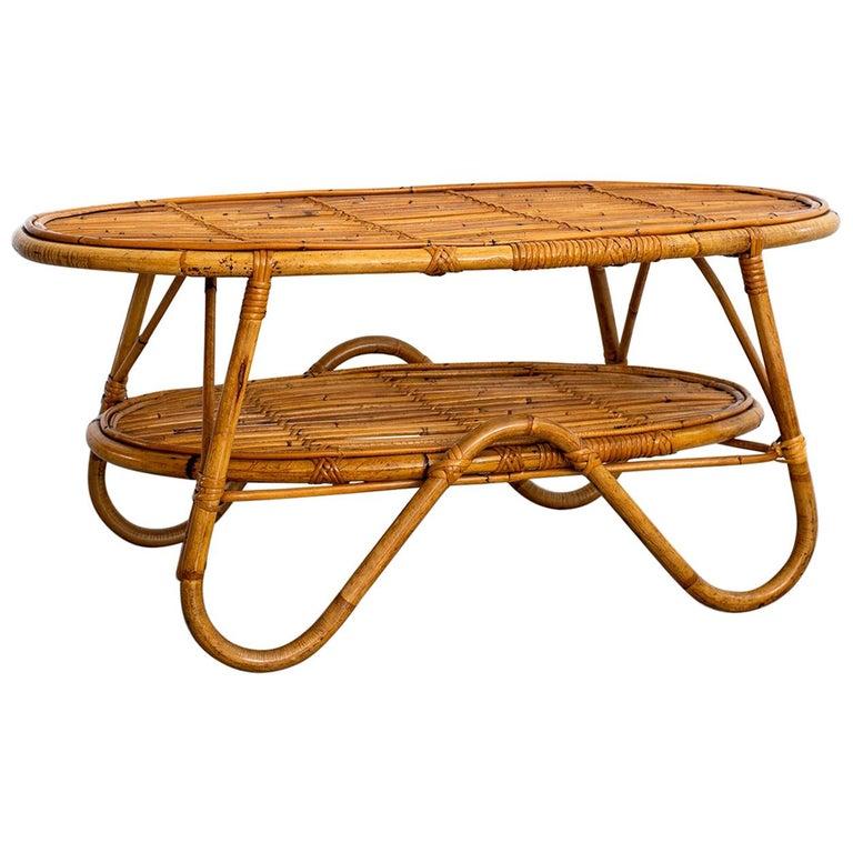 Oval Bonacina Coffee Table