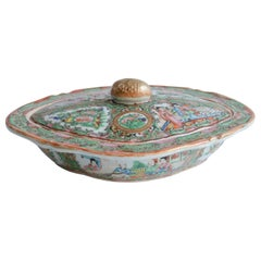 Oval Chinese Pea with Lid