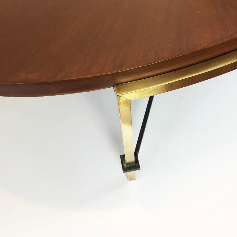 Mexican Oval Coffee Table by Arturo Pani For Sale