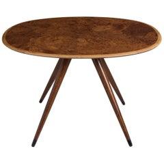 Oval Coffee Table by David Rosen, Denmark, circa 1960