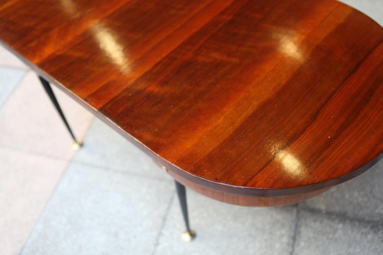 Oval Coffee Table Gio Ponti For Sale 4