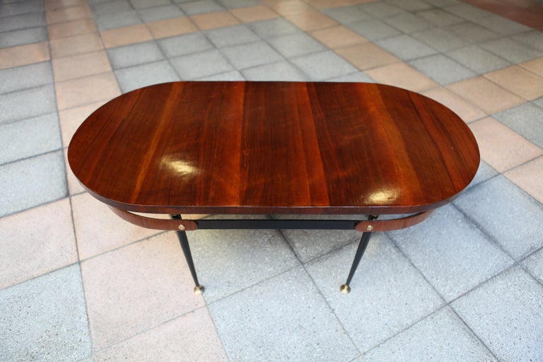 Italian Oval Coffee Table Gio Ponti For Sale