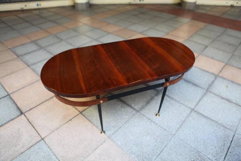 Oval Coffee Table Gio Ponti In Good Condition For Sale In Paris, FR