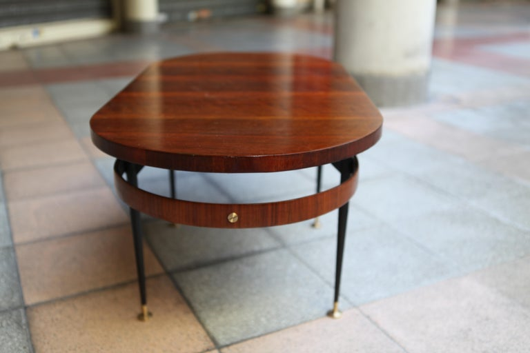 Oval Coffee Table Gio Ponti For Sale 1
