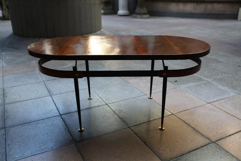 Oval Coffee Table Gio Ponti For Sale 2