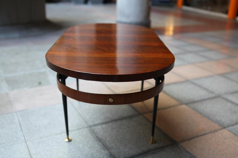 Oval Coffee Table Gio Ponti For Sale 3