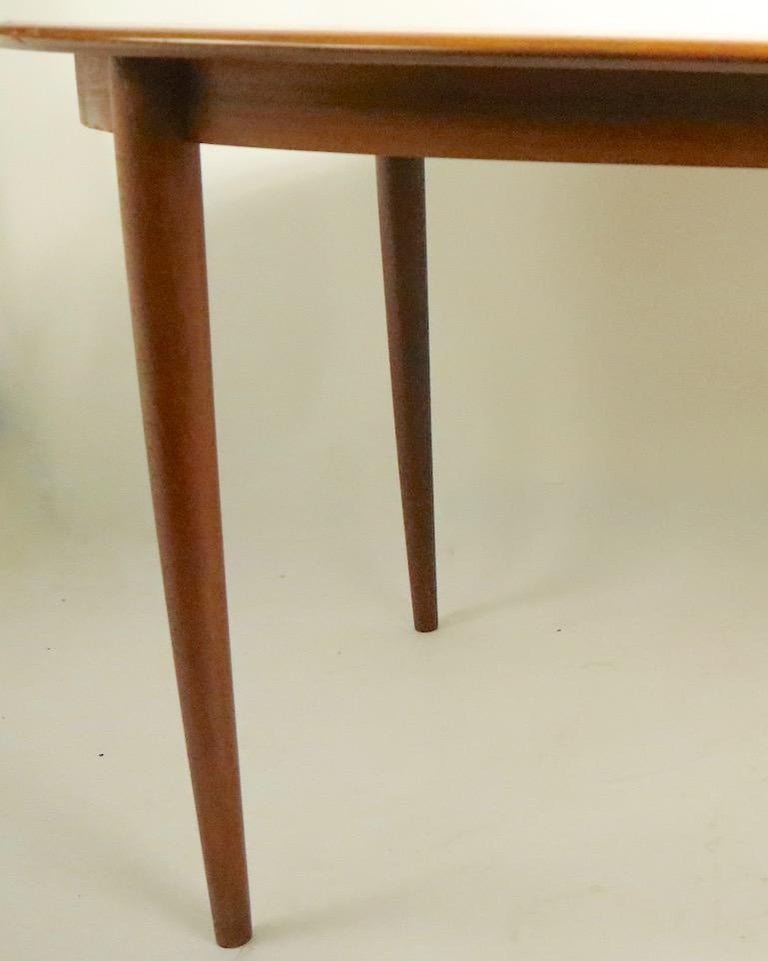 20th Century Oval Danish Modern Dining Table by Gudme Mobelfabrik For Sale