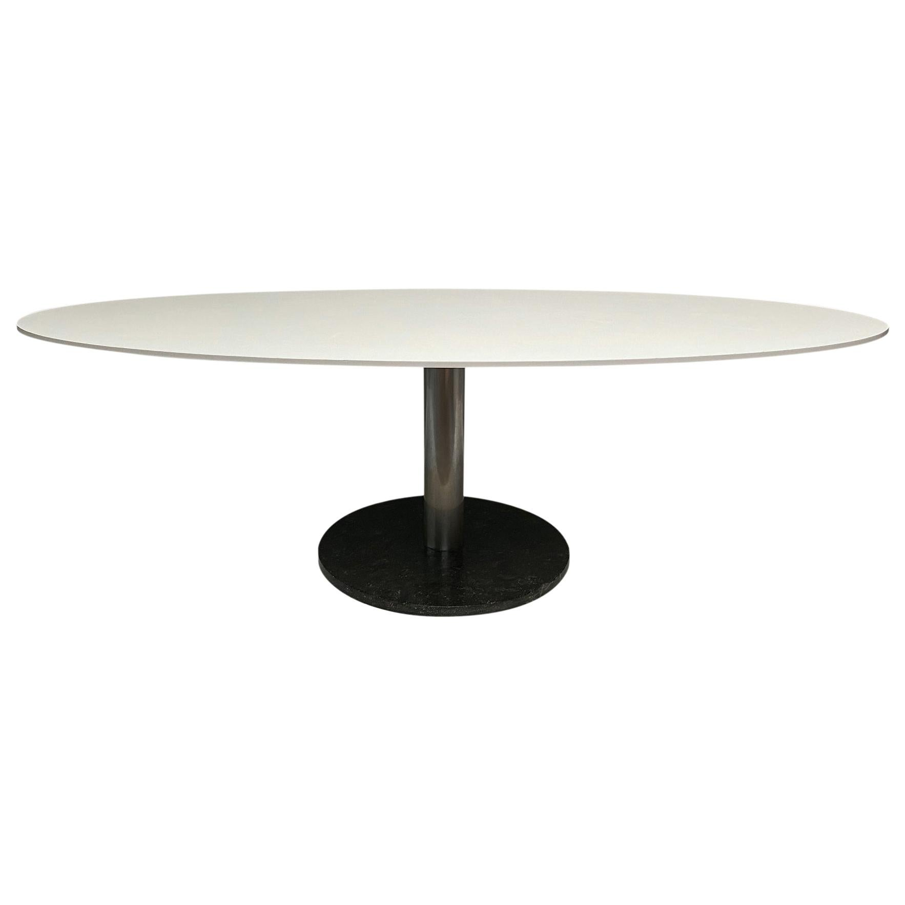 Oval Dining Table by Alfred Hendrickx