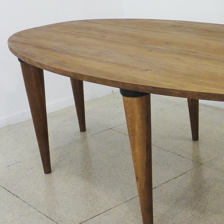 Modern Oval Dining Table For Sale