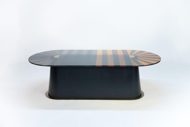 Oval Dining Table 6