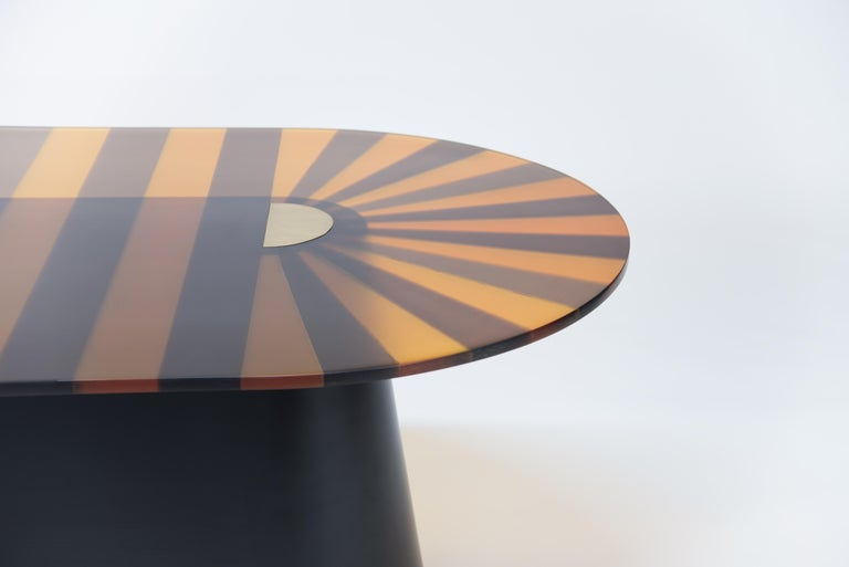 Oval Dining Table 4