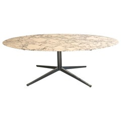 Oval Dining Table from Florence Knoll for Knoll International, circa 1970